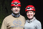 Theresa and Frederic on Adventure Quest trip at Venado Caves © by OA:modio