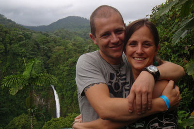 Manon & Wouter at La Fortuna Waterfall © by OA:modio
